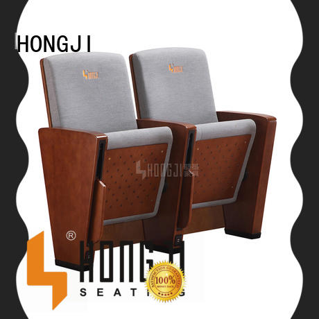 HONGJI auditorium seating chairs manufacturer for sale