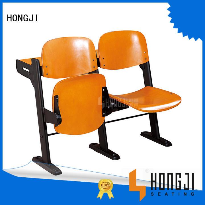 HONGJI ISO14001 certified school seats supplier for university
