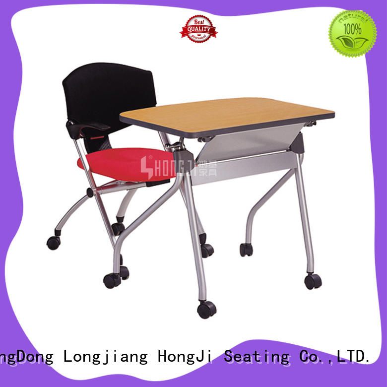 foldable office seating trader for school HONGJI