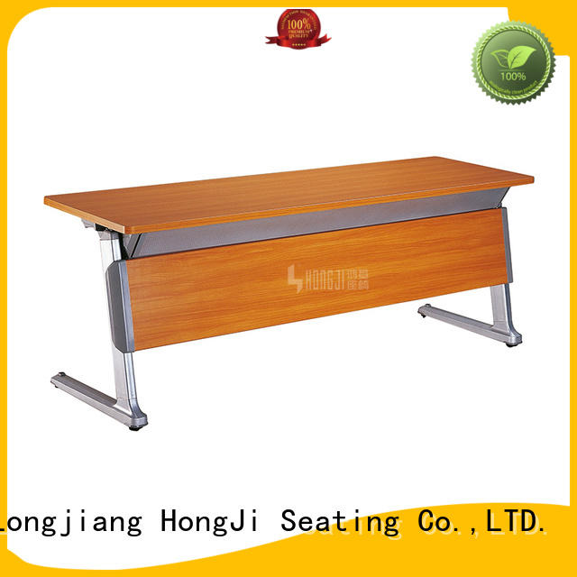 New design folding spliced aluminum conference training table HD-02B