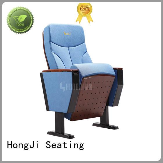 HONGJI elegant church auditorium chairs factory for cinema