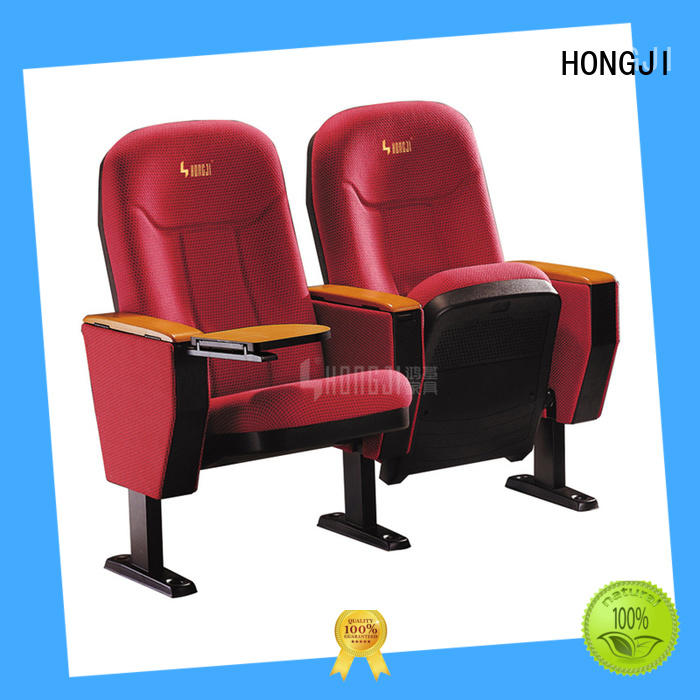 HONGJI 4 chair theater seating factory for office furniture
