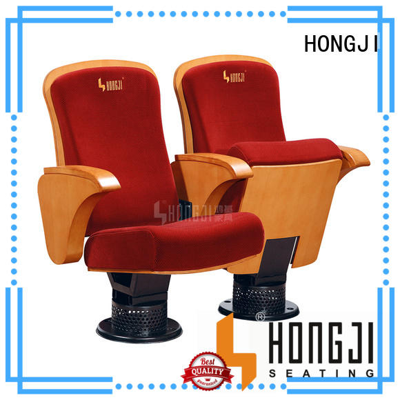 HONGJI newly style 4 person theater seating manufacturer for university classroom