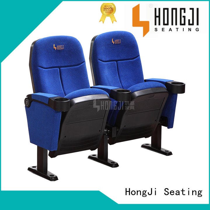 HONGJI elegant luxury theater seating directly factory price for importer