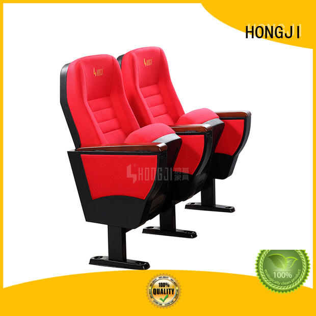 HONGJI elegant new theater seats factory for sale