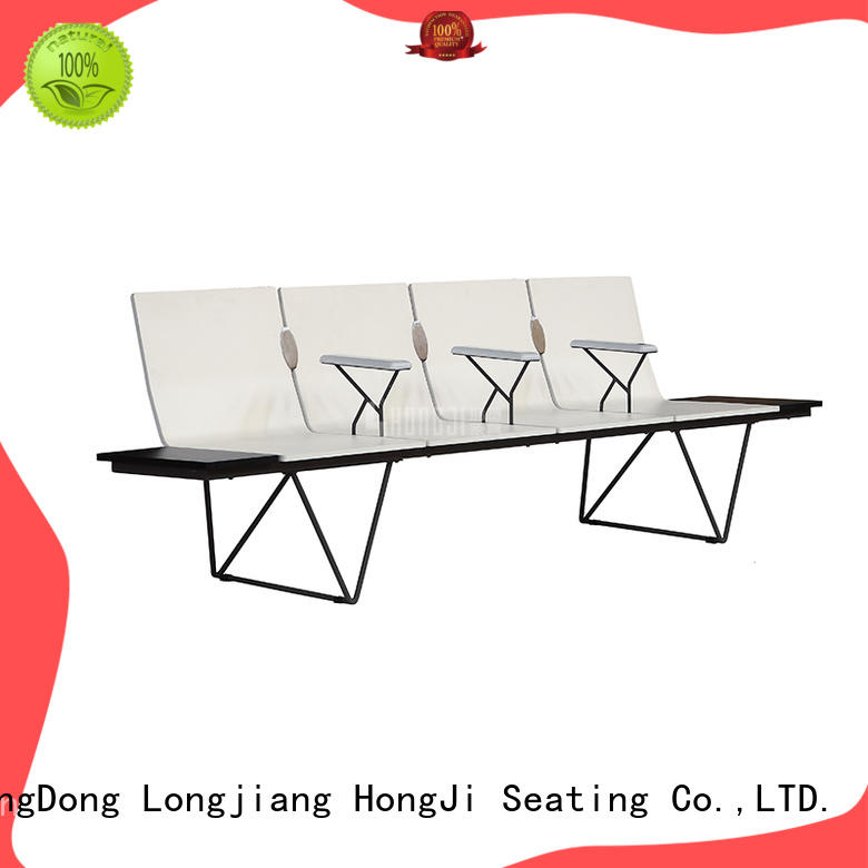 HONGJI durable in use reception seating factory for travel terminal