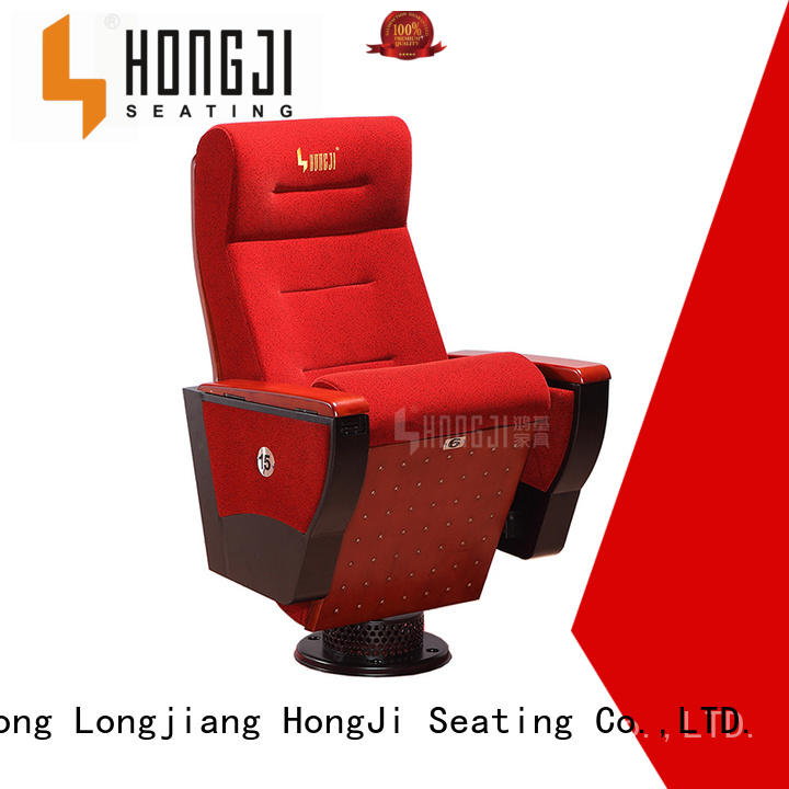 HONGJI elegant affordable church chairs manufacturer for sale