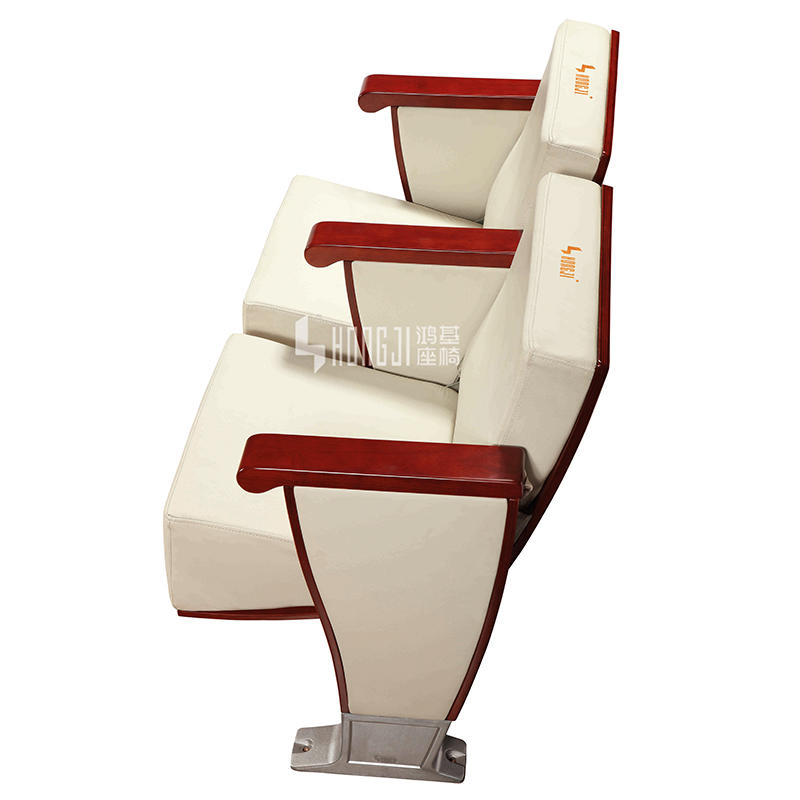 Innovative design seat back folding auditorium chair HJ8010