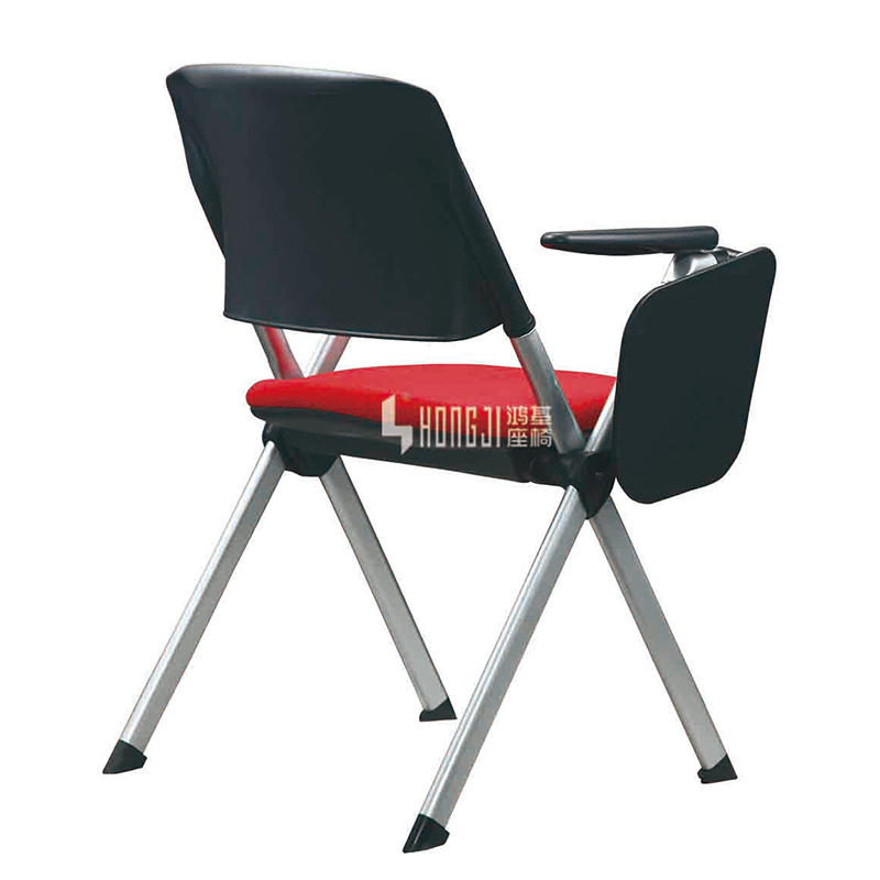 Folding chair office training chair belt writing board G0905B