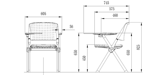 HONGJI minimalist conference seating well-know factory for conference-1