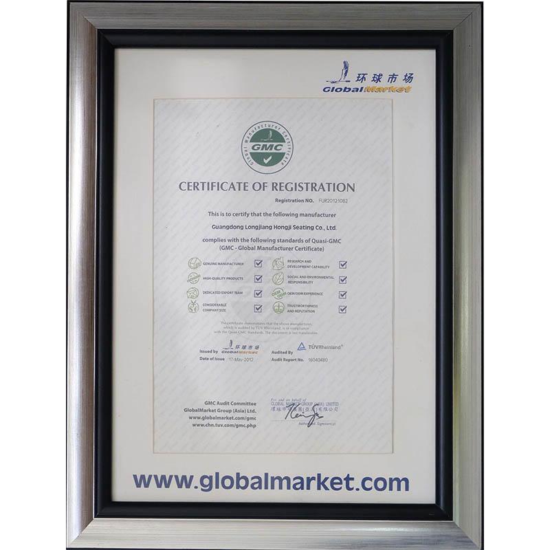 GLOBAL MARKET CERTIFICATION