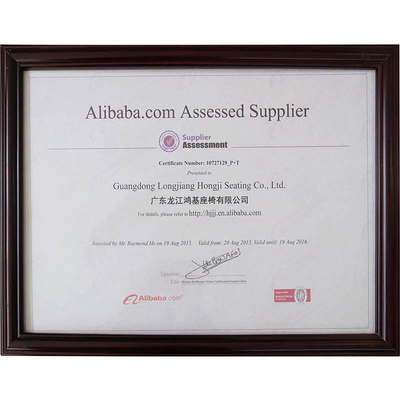 Alibaba certifies suppliers