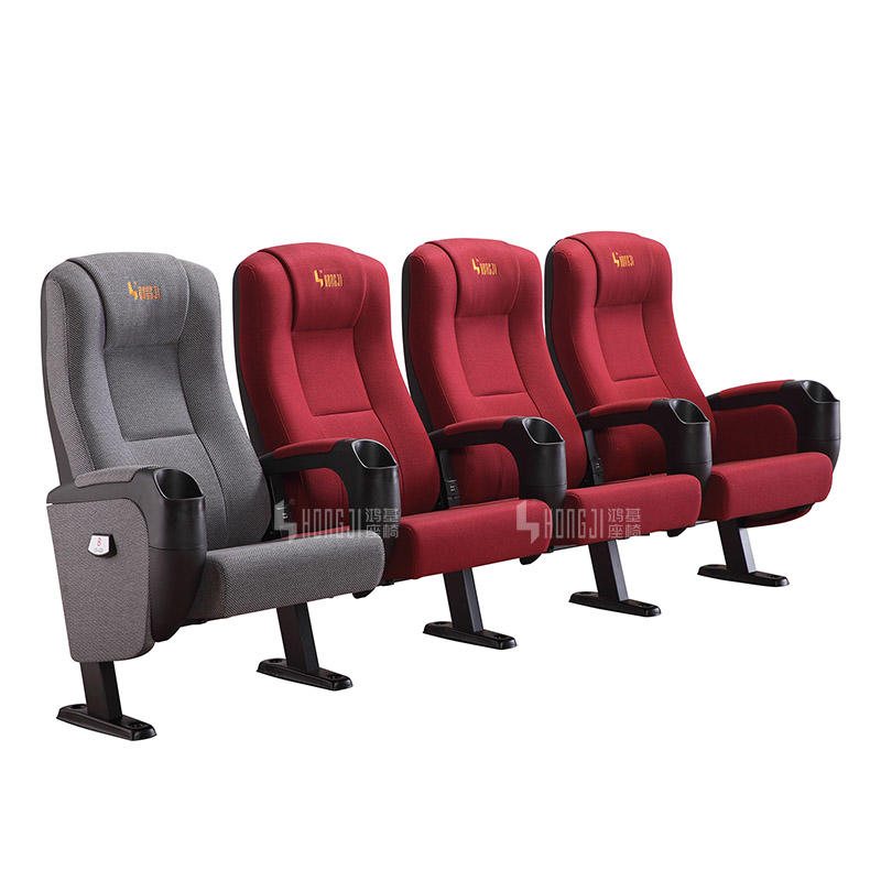 2018 Hot sale Hongji seating cinema chairs cinema with USB connection HJ9963