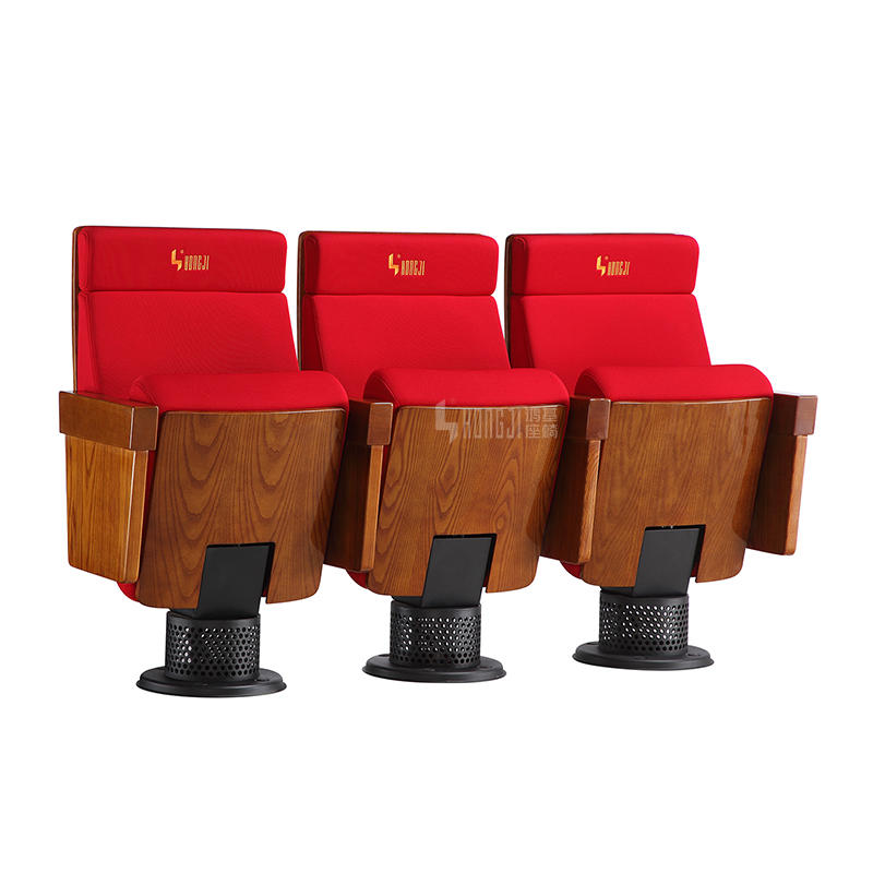 Red School Church Conference Theater Auditorium Seating HJ8031A