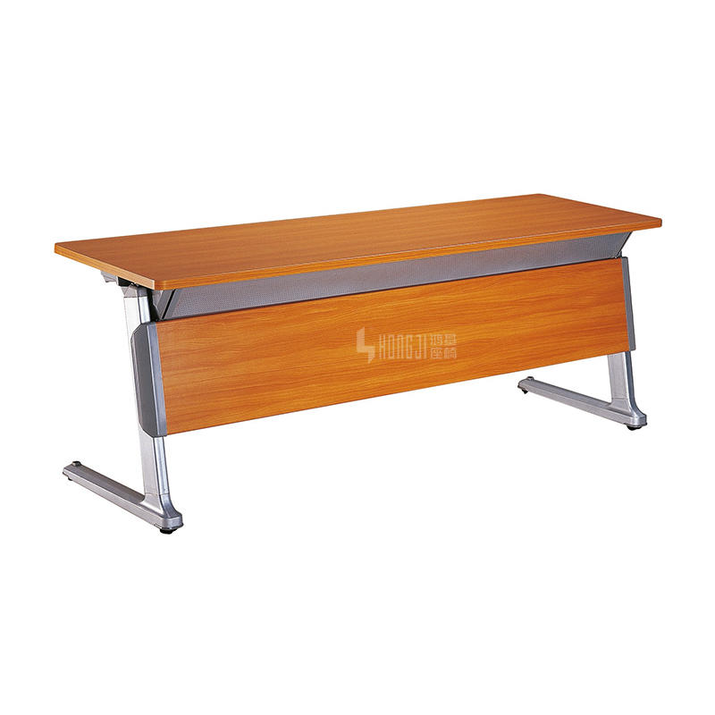 New design folding spliced aluminum conference training table HD-02B