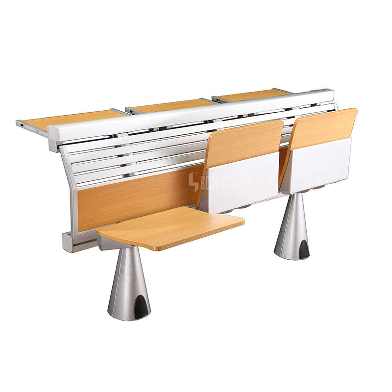 School Classroom Furniture Appearance Aluminium Student Desk and Chair Set TC-912