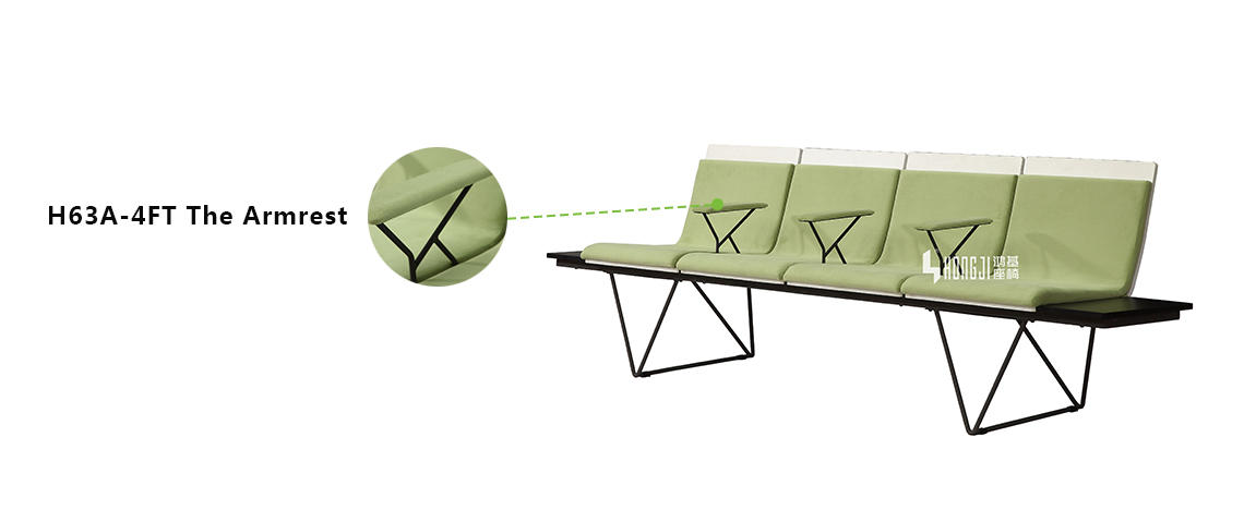 patient waiting chair aluminum furniture Warranty HONGJI
