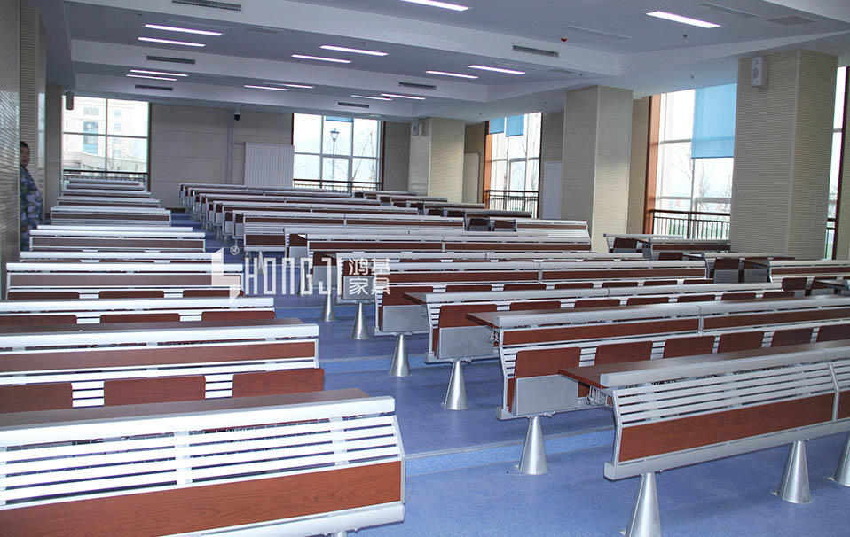 chairs metal school desk school university HONGJI