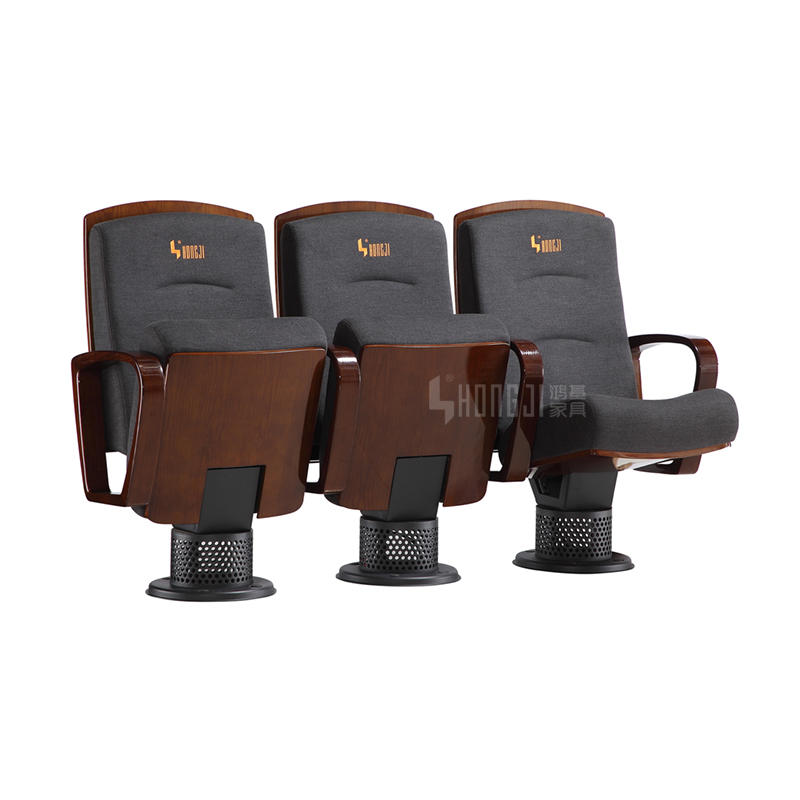 High Light Painting Solid Wood Office Theater Auditorium Seating HJ803F