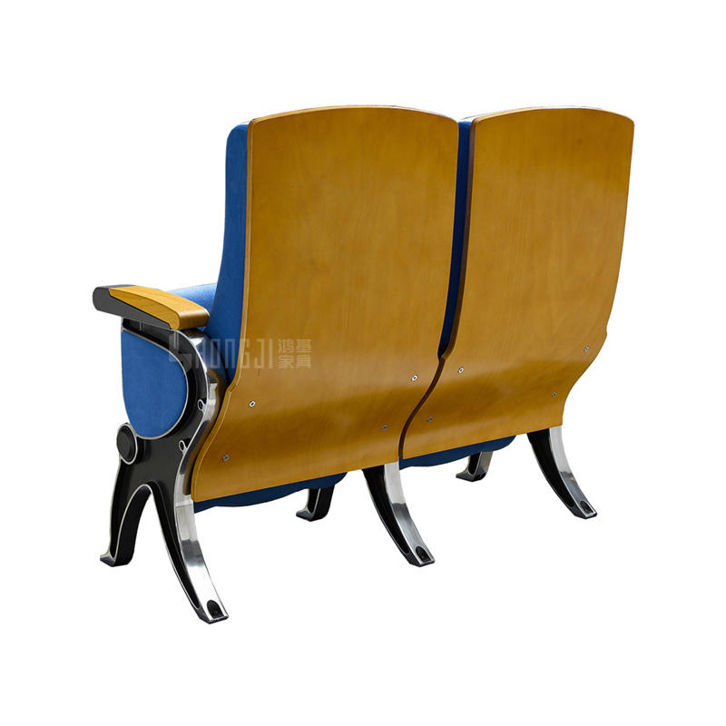 Popular ABS Writing Pad University Classroom Furniture Auditorium Chair HJ818A