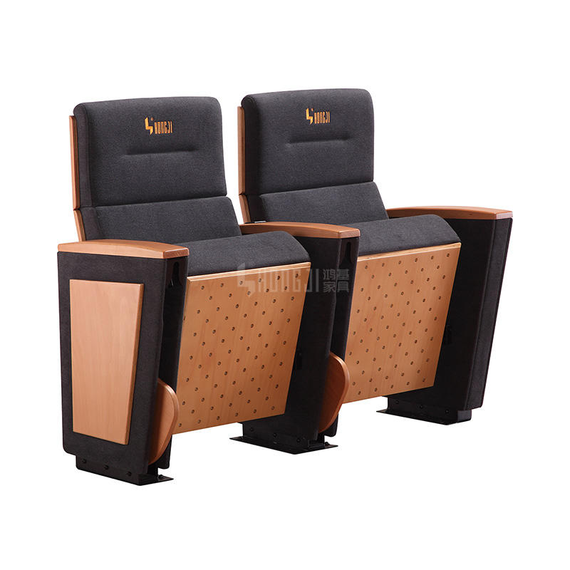 Antipanic Writing Tablet Church University Classroom Theater Cinema Auditorium Chair  HJ8007