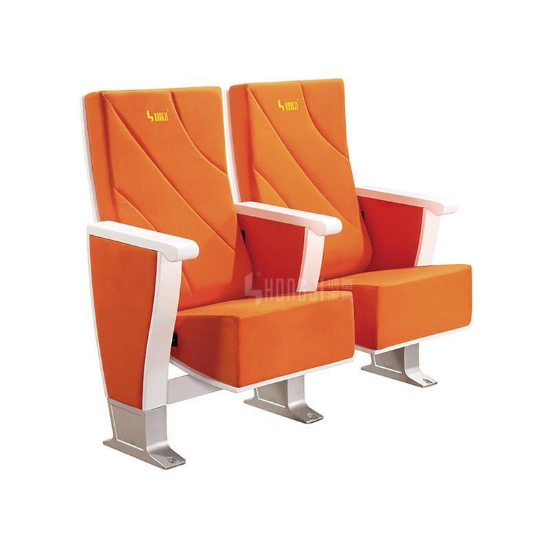 Aluminum Leg European Style for Church Cinema Stadium Seat HJ8012A