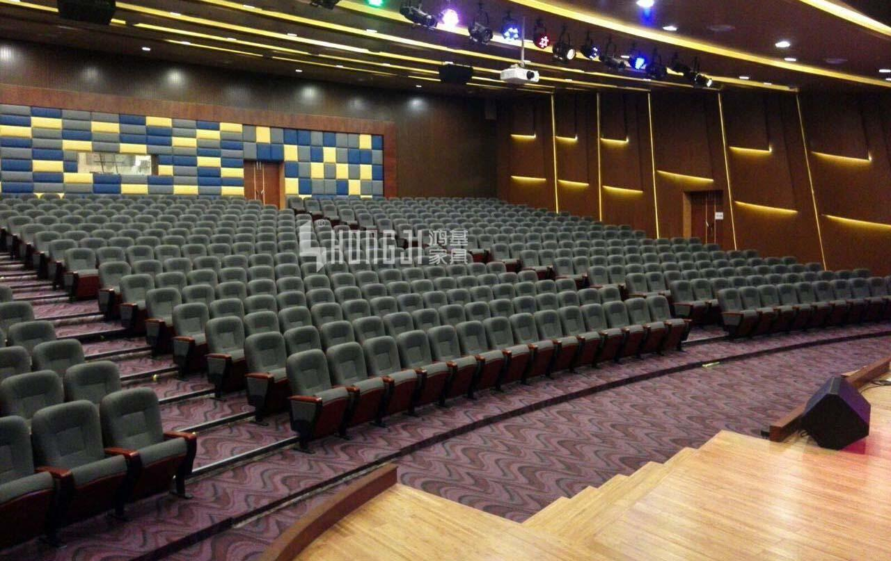 hj8005a church auditorium chairs with classroom HONGJI