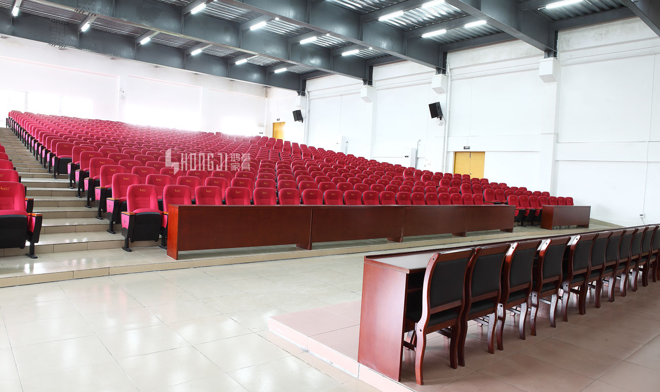 HONGJI newly style auditorium seating design supplier for university classroom-2