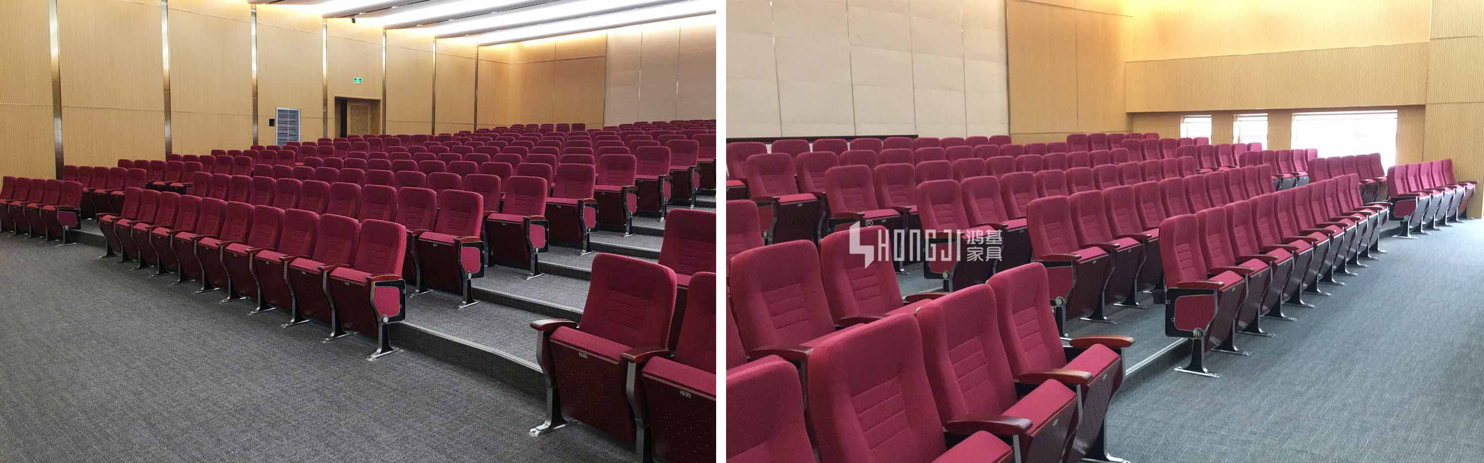 HONGJI custom theater seating manufacturer for university classroom-2