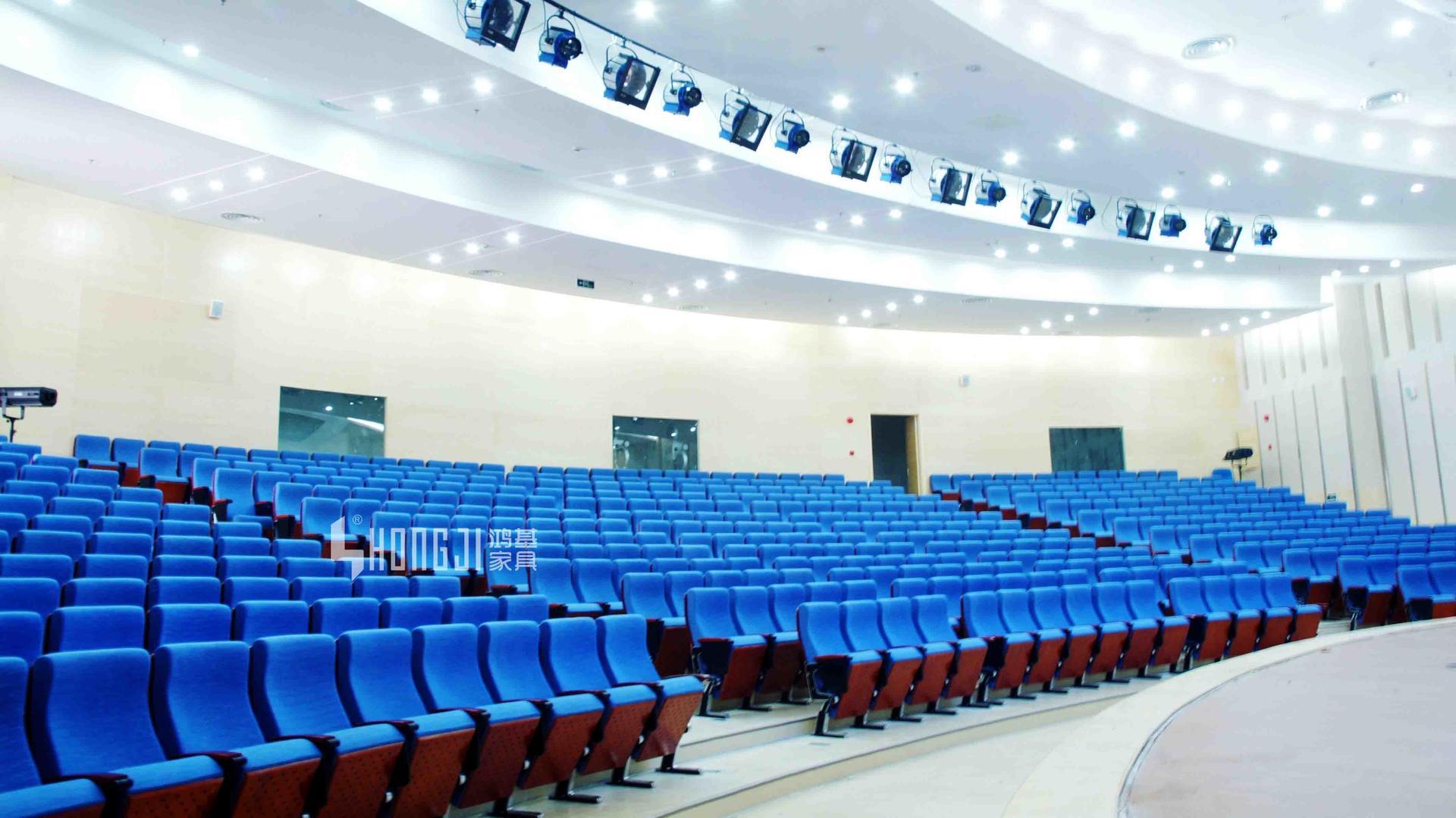 connection pedestal cover university auditorium chairs HONGJI
