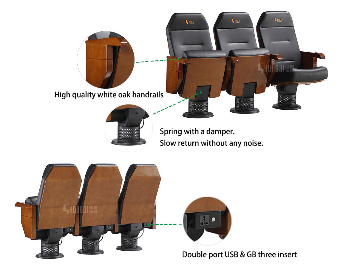 cushioned auditorium seat tablet sale
