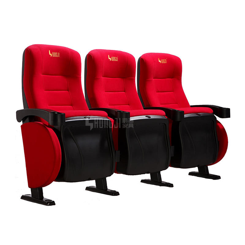 Yes folded good price cinema hall chair movie theater seating HJ9505