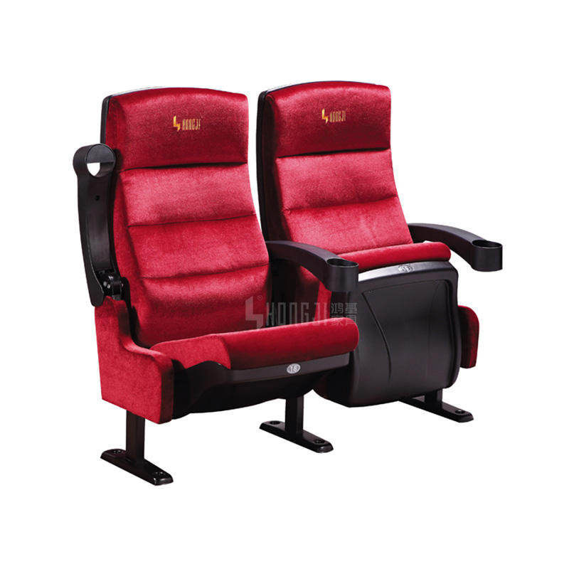 Movie Cinema seats cinema chairs exporters featuring in cinema seat sofa in red HJ9910A