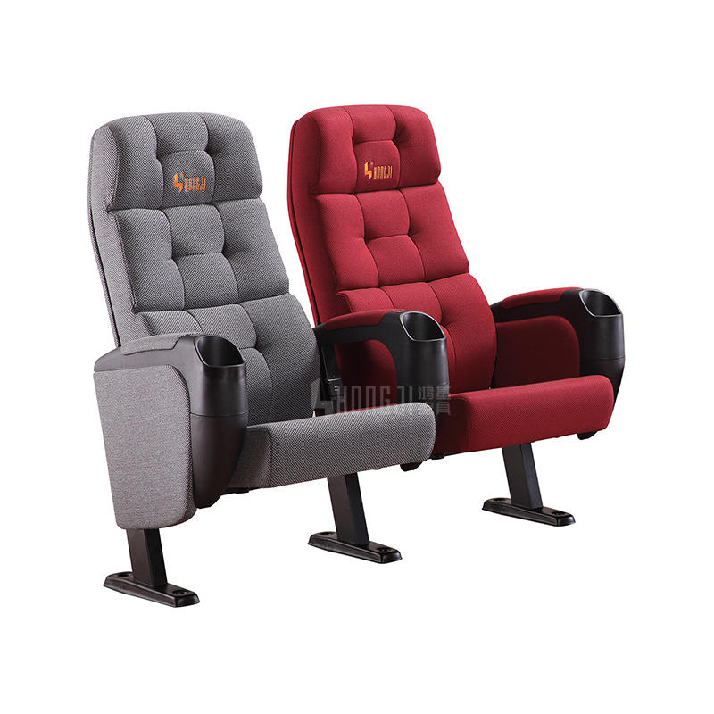 Foshan New Design Cinema Movie Theater Chair with USB HJ9962