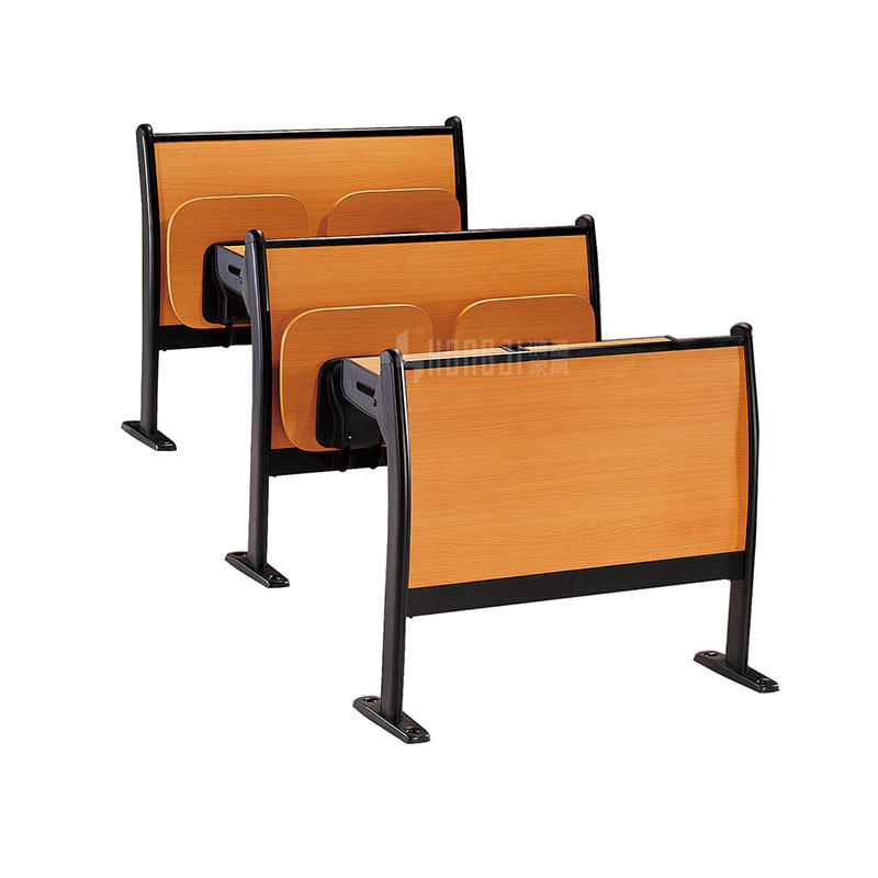 Wooden metal desk good price school desk and chair classroom furniture TC-003