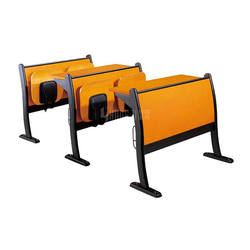 Educational School Teaching Double Desk Chair, Education School Classroom Student Furniture TC-008