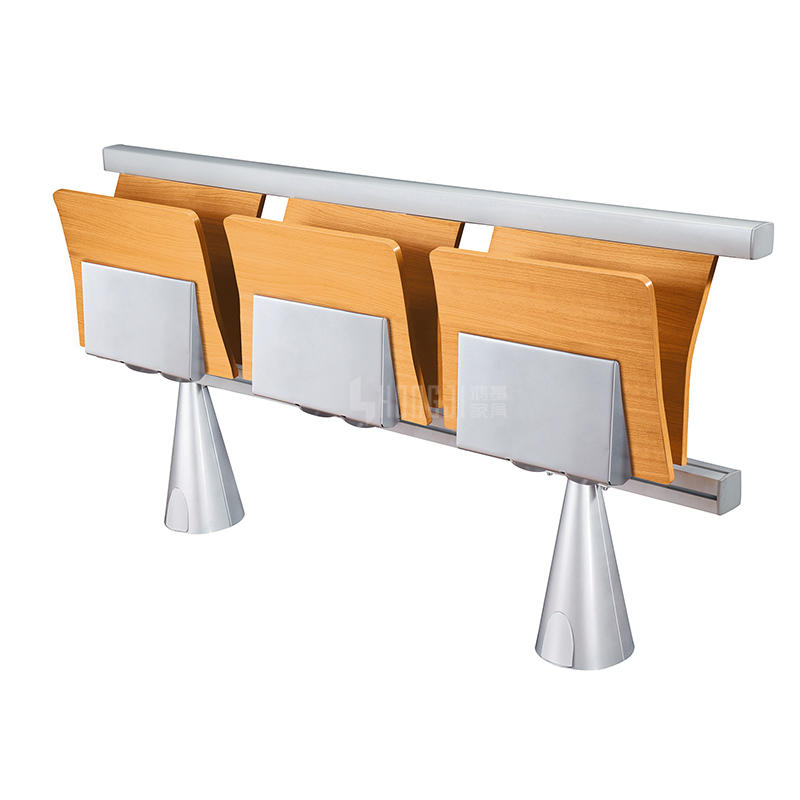 Wholesale Three-Seat Folding Student Desk and Chair For University TC-913
