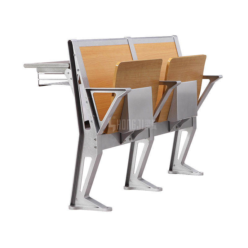 Hot sell wooden classroom chair and desk in college university TC-954-1