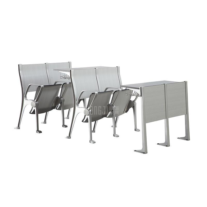 New Design Aluminum University Teaching Classroom School Student Desk Chair TC-991D