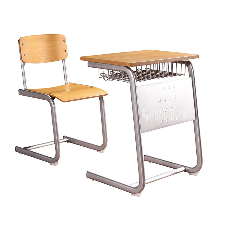 University Furniture Primary School Classroom Sudent Desk Chair TC-C02+TC-Z02