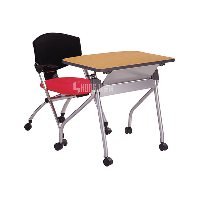 Promotional classroom study desk meeting table folding desk HD-03A