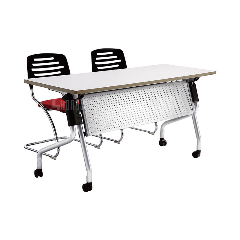 Foldable conference desk small meeting room table movable morern conference table HD-10B