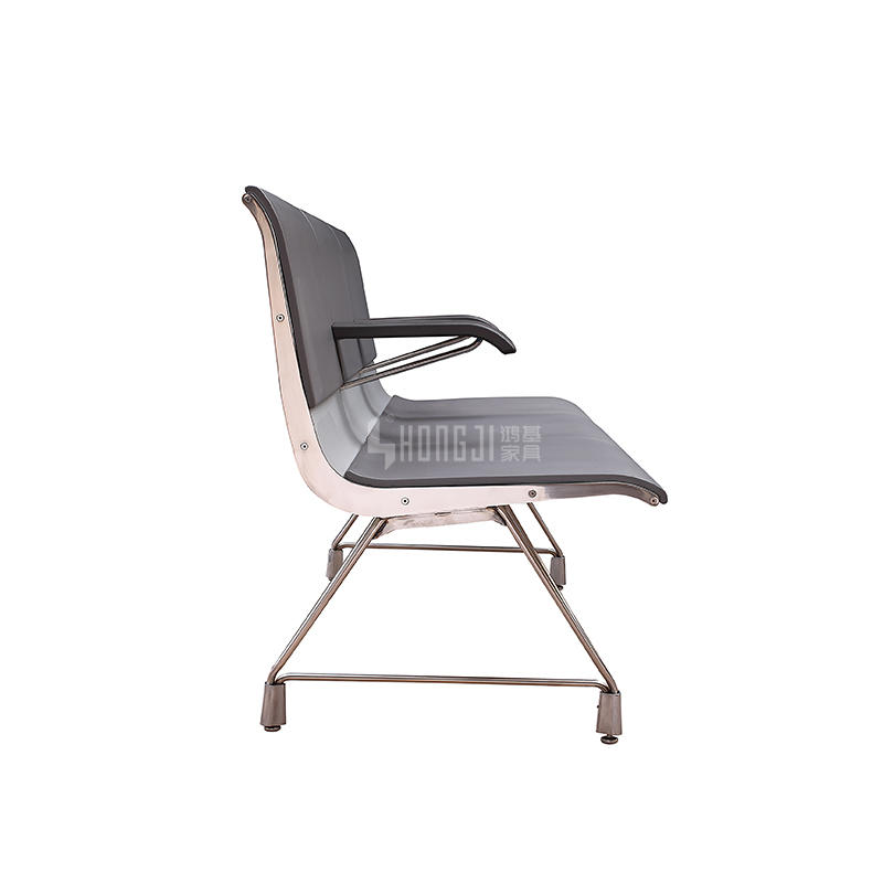 Aluminum Public Bench Hospital Airport Waiting Chair  H60E-3
