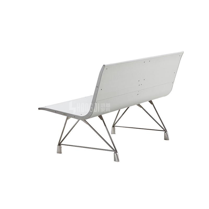 HONGJI h60e3 waiting bench public seating solution for bank-1