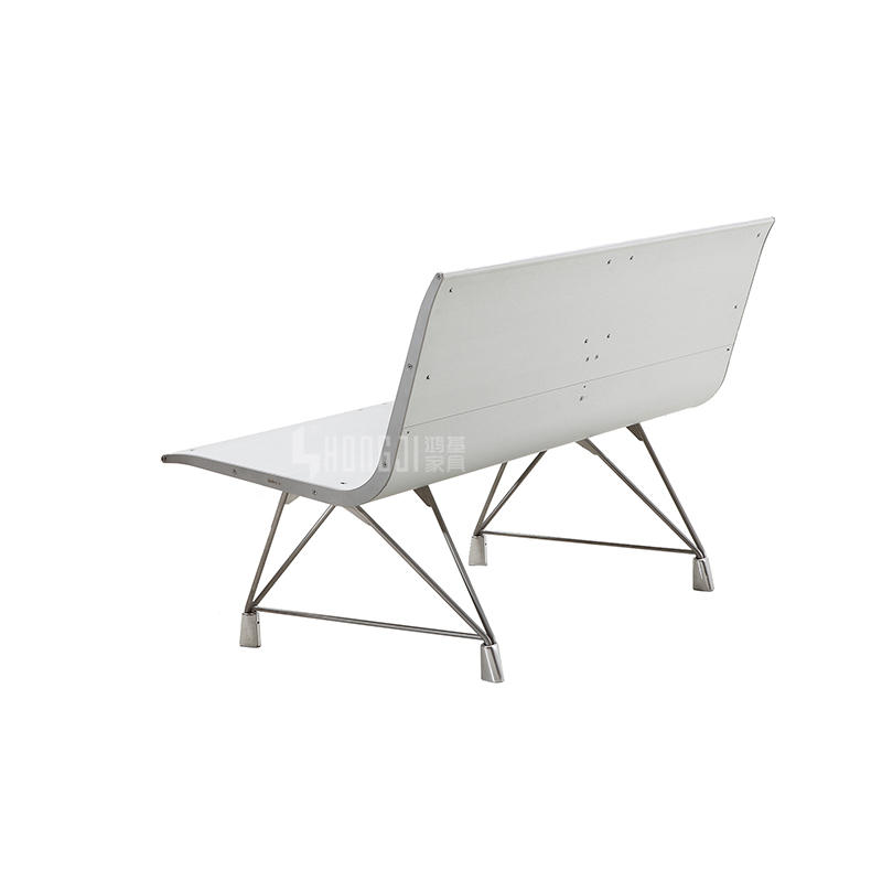 Aluminium alloy waiting chair airport seating manufacturers H60A-2