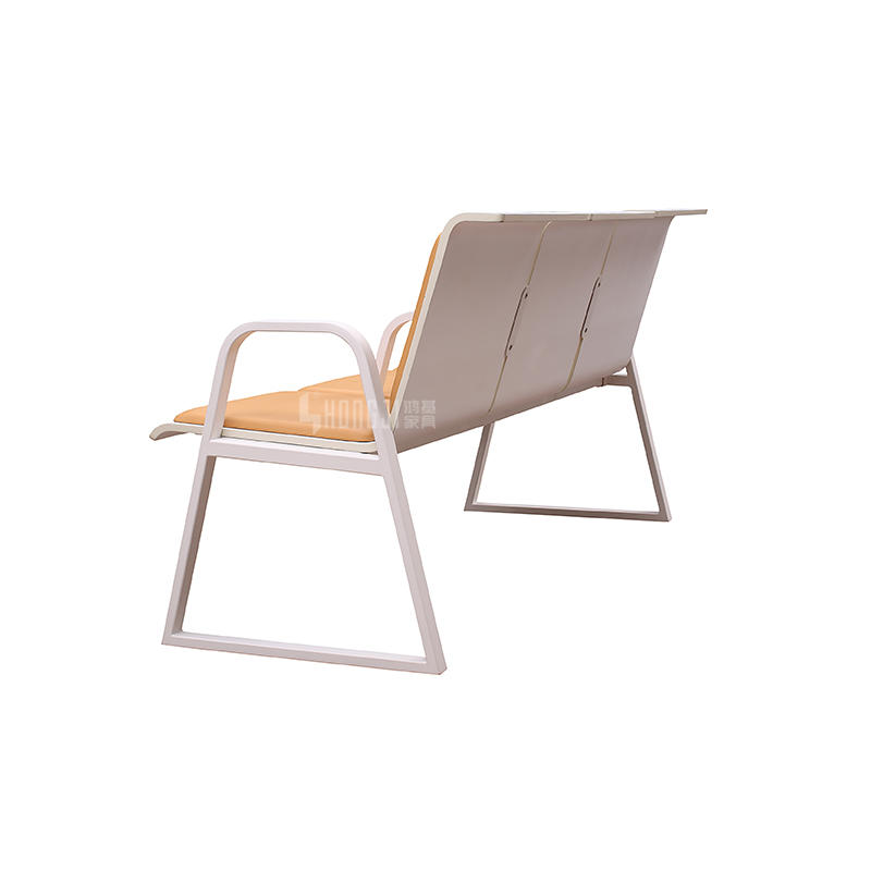Comfortable Bank Hosiptal Waiting Area Furniture H72B-3F-S