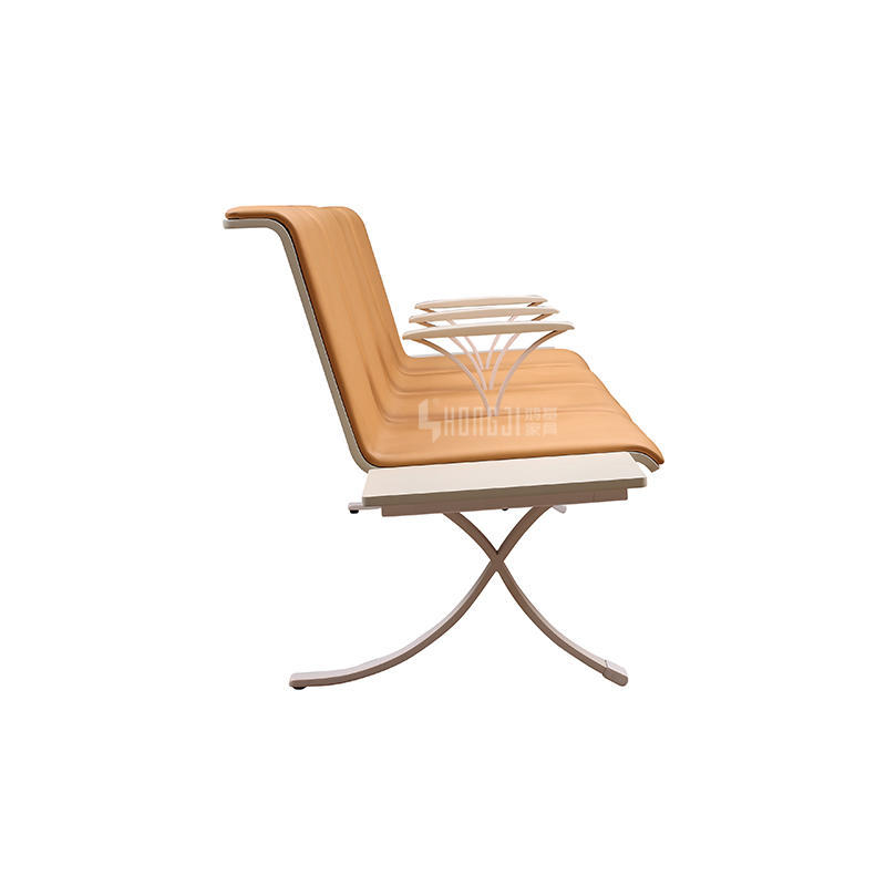 Barber waiting airport 4-seater waiting chair H73A-4FT-S