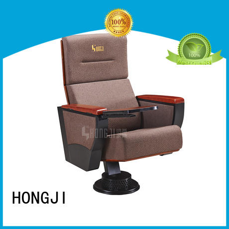 HONGJI newly style lecture theatre seating manufacturer for sale
