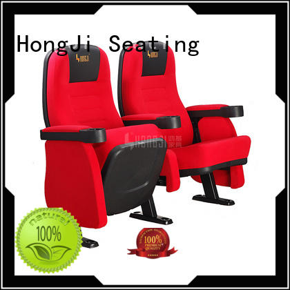 HONGJI elegant home theater chairs competitive price for cinema