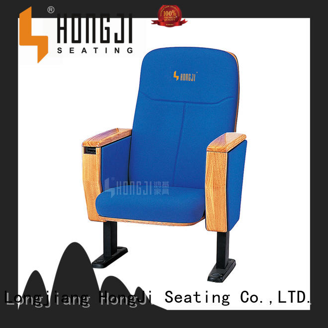 Quality HONGJI Brand lecture theatre chairs hj6815